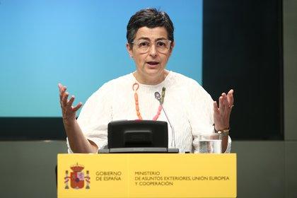 La ministra de Asuntos Exteriores de España, Arancha González Laya (Europa Press)