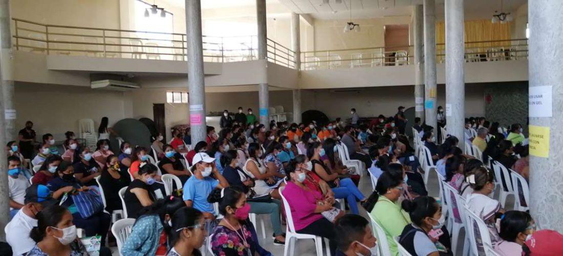 Capacitación a docentes en Yapacaní
