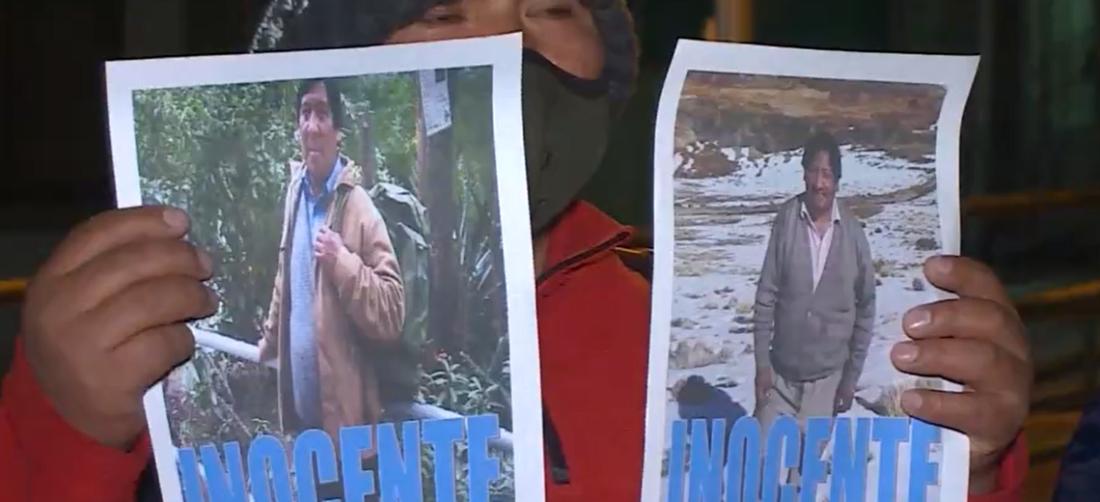 Walter Mamani fue aprehendido como sospechoso de la muerte de Ascarrunz