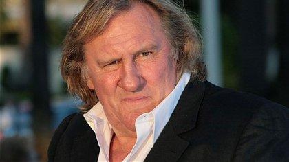 Gerard Depardieu es acusado de violación: el actor francés de 72 años habría agredido sexualmente a una joven actriz en 2018 (AFP)