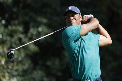 El golfista estadounidense Tiger Woods (EFE)