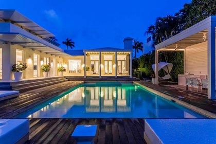 La mansión de Shakira en Miami (The Grosby Group)