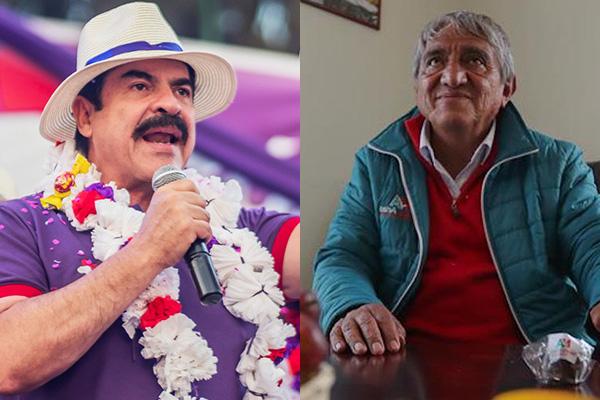 Manfred Reyes Villa e Iván Arias