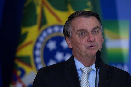 El presidente de Brasil, Jair Bolsonaro (EFE/ Joédson Alves/Archivo)