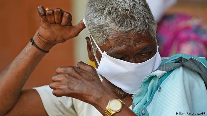 Indien Corona-Pandemie | Lepra