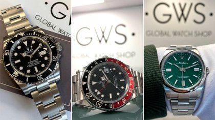 Algunos de los relojes que pueden comprarse a través de su empresa