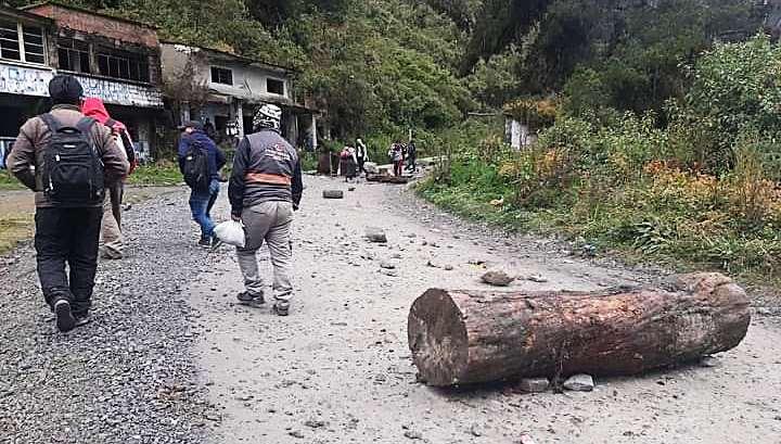 Integrantes de Adepcoca habían bloqueado en Yolosita y Unduavi
