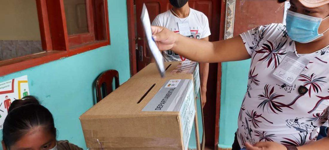 Repetición de la votación en San José