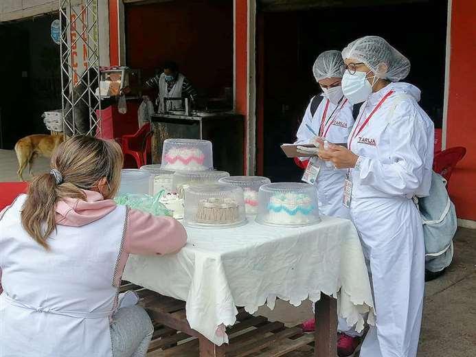 Pruebas para detectar coronavirus en Tarija