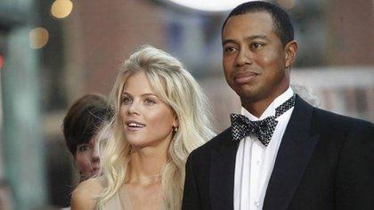 Tiger Woods y su ex esposa Elin Nordegren