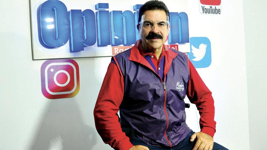 El alcalde electo de Cochabamba, Manfred Reyes Villa. NOÉ PORTUGAL