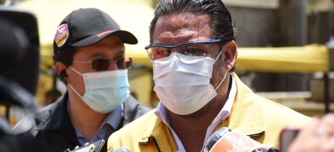 Luis Revilla, alcalde de La Paz. Foto: AMN
