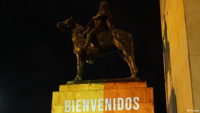 Monumento a los Héroes en Bogotá