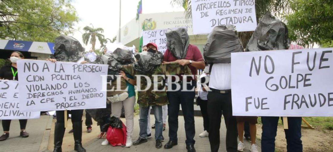 Fiscal Mariaca asegura que no hay orden de aprehensión contra Camacho. Foto. JC Torrejón