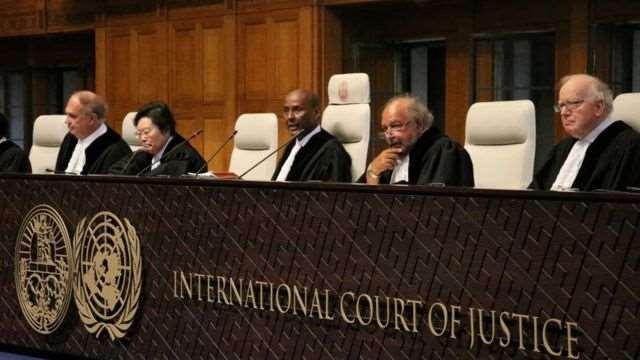 La CIJ emitió su decisión en octubre de 2018