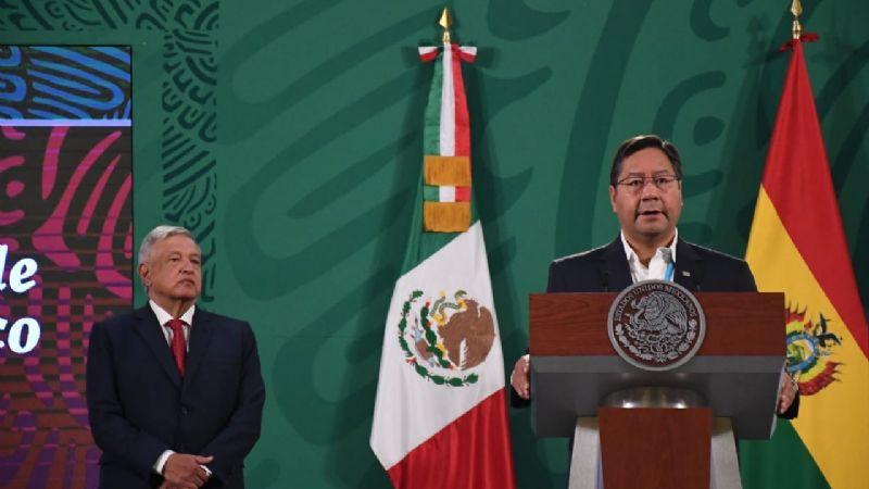 En México, Arce culpa al «golpe de Estado» por el fracaso de la explotación del litio