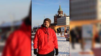 Nahuel Ríos tiene 38 años y vive en Finlandia desde 2016