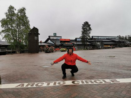 A Nahuel le costó mucho adaptarse al clima y a la falta de luz solar en Finlandia durante el invierno. En el primer año tuvo que hacer terapia para reponerse de un bajón anímico