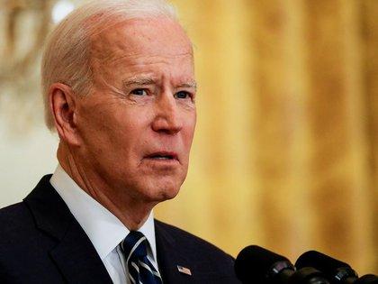 El presidente de los Estados Unidos, Joe Biden. Foto: REUTERS/Leah Millis