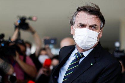 El presidente de Brasil, Jair Bolsonaro REUTERS/Ueslei Marcelino)