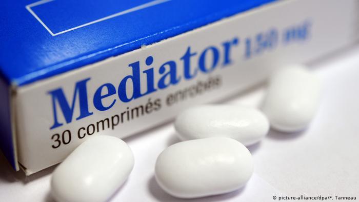 Frankreich Paris Prozess um Schlankmacher-Pille Mediator