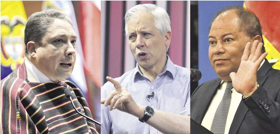 Ex autoridades del gobierno de Morales vuelven a la palestra política