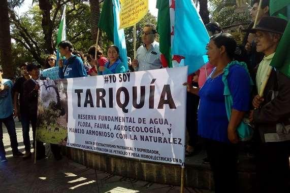 Pobladores de comunidades aledañas a San Telmo Norte se oponen a la exploración