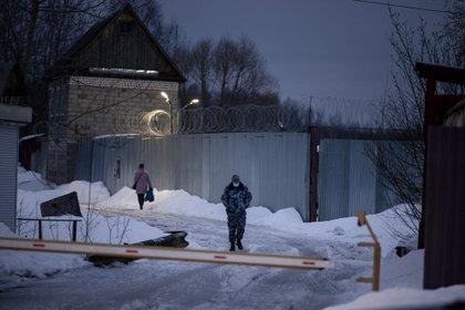 La colonia penal número 2 de Pokrov. (Dimitar DILKOFF / AFP)