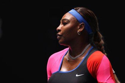 Serena Williams contó que gracias a la medicación no ha tenido más dolores (Reuters)
