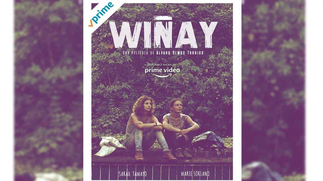Afiche de Wiñay en Amazon Prime. Amazon Prime