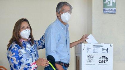 La votación del candidato en Guayaquil (AFP)