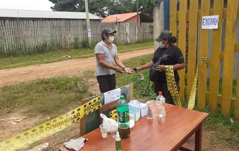 La Policía aplicó controles en los diferentes recintos electorales