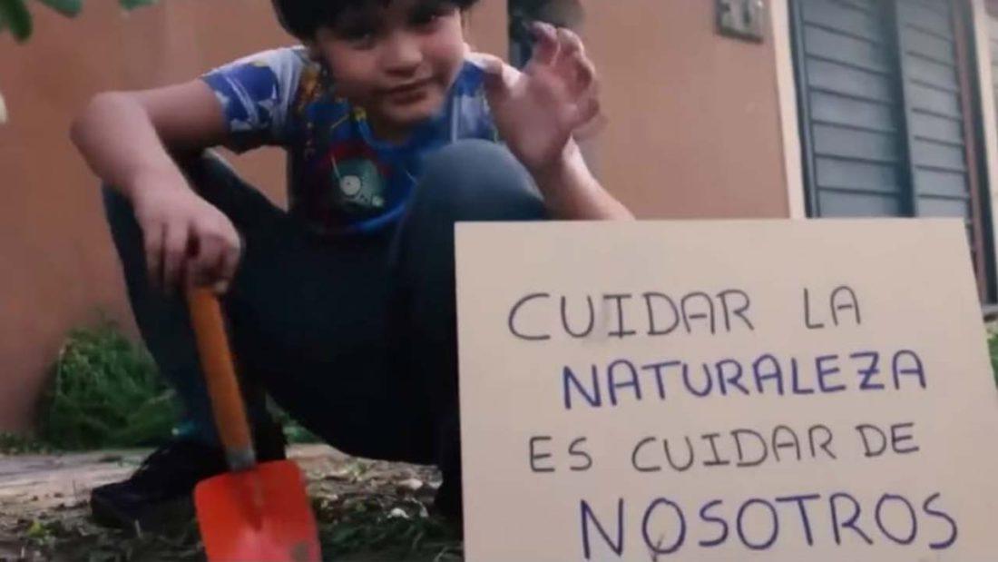 """Niño de 10 años gana concurso """"Mi Llajta te quiero verde"""""""