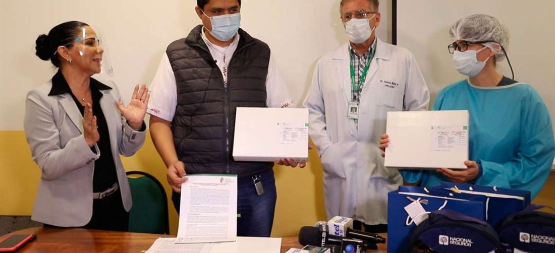 Sedes recibe donación de catéteres para niños con cáncer