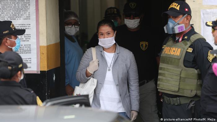 Peru | Freilaßung der Oppositionsführerin Keiko Fujimori