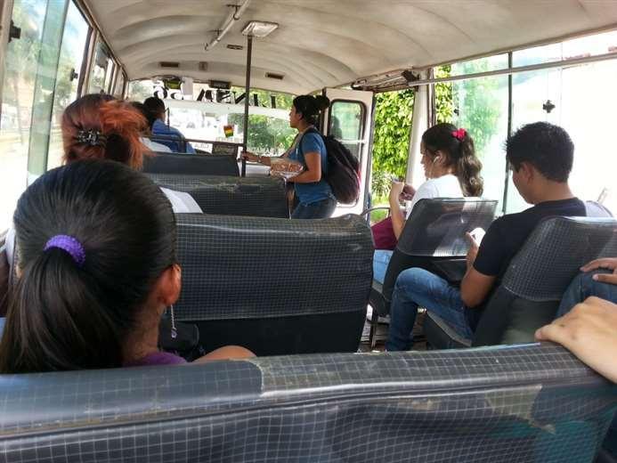 Transporte público en Santa Cruz
