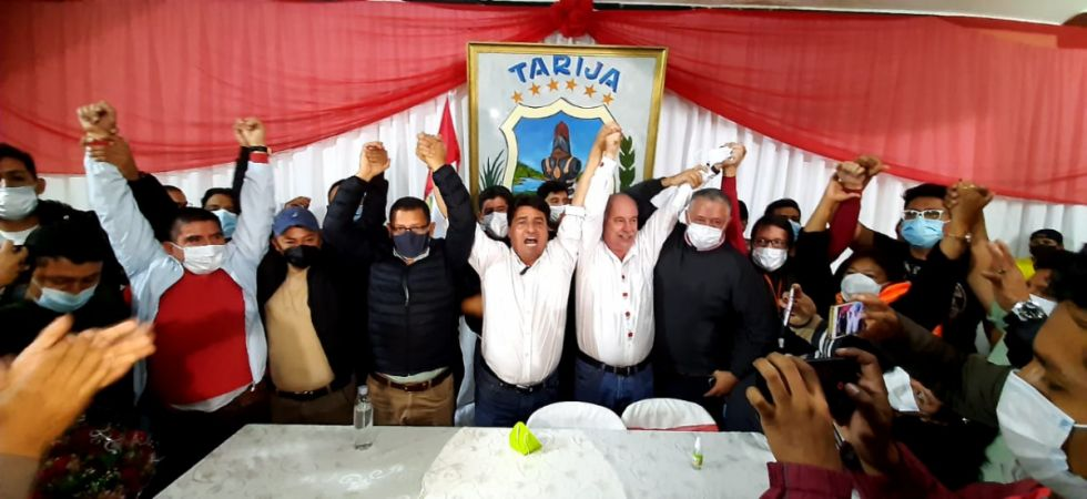 Cercado fue clave para la victoria de Montes en Tarija