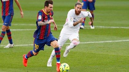 Sergio Ramos se perdió el duelo de ida de la Champions contra el Liverpool y el Clásico frente al Barcelona (Reuters)