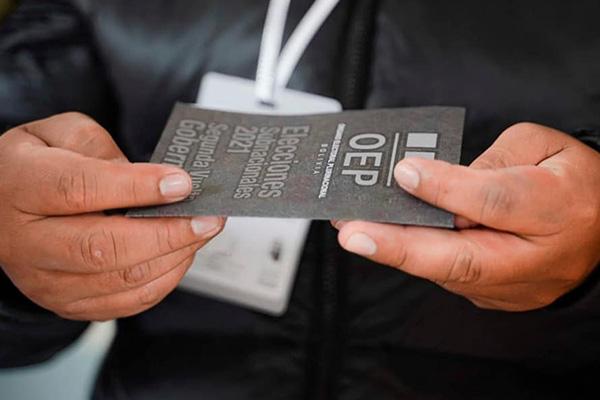 Elecciones subnacionales/ Imagen de referencia/ Foto: TED CHUQUISACA