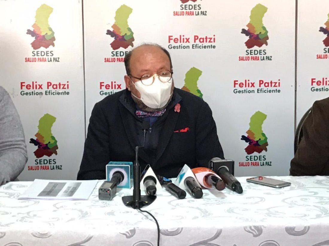 """Sedes La Paz advierte: """"Estamos en una escalada de contagios de covid, podría ser el inicio de una tercera ola"""""""