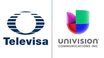 Dos de las televisoras más importantes del mundo hispano anuncian su unión (Foto: Televisa Sitio Oficial / Univisión Sitio Oficial)
