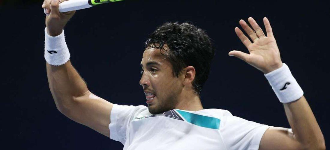 Hugo Dellien no pudo avanzar a cuartos de final en Serbia. Foto: Internet
