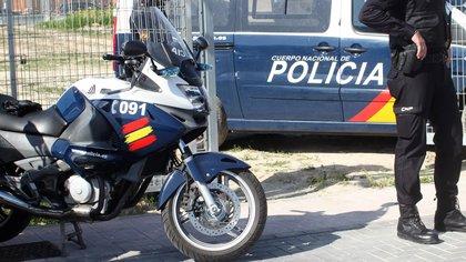 Policía Nacional de España. Foto Europa Press