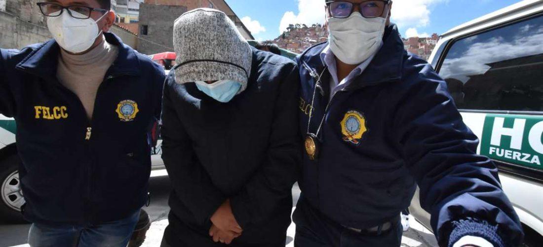 Edwin Characayo, ministro de Desarrollo Rural, es trasladado a la Fiscalía/Foto: APG