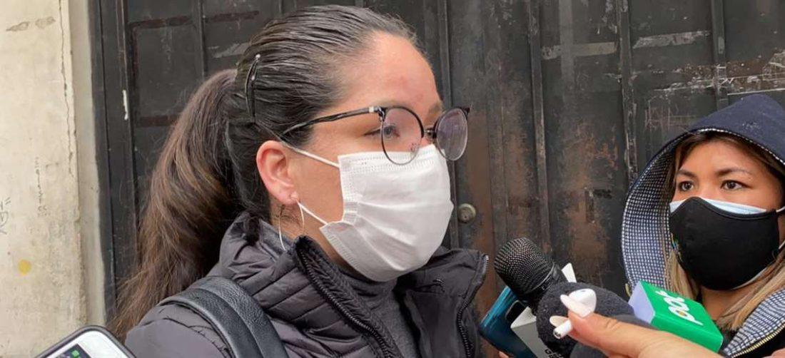La diputada, Janira Román relató cómo vio a la ex Presidenta, Jeanine Áñez (Foto: RRSS)