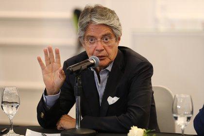 Guillermo Lasso, presidente de Ecuador (EFE/José Jácóme)