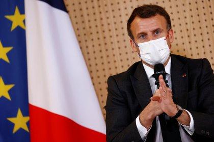 El presidente Emmanuel Macron (REUTERS/Christian Hartmann)