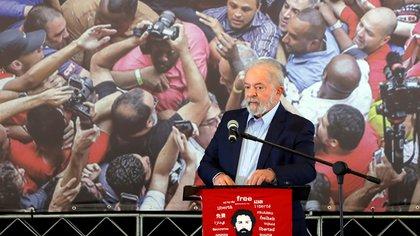 El ex presidente brasileño Luiz Inácio Lula da Silva (EFE/ Fernando Bizerra Jr./Archivo)