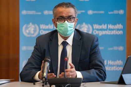 El director general de la Organización Mundial de la Salud (OMS), Tedros Adhanom Ghebreyesus (Europa Press)