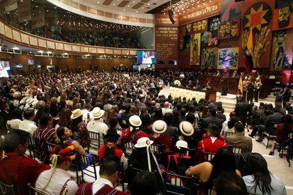 La Asamblea Nacional de Ecuador en Quito (Imagen de archivo. 24 de mayo de 2018. REUTERS/Daniel Tapia)